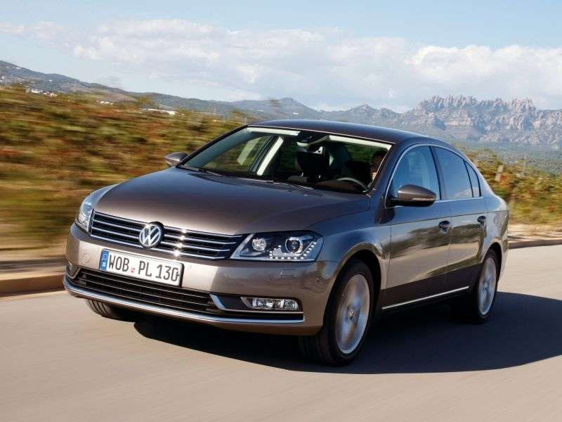 Volkswagen Passat B7sedan 1.8 TSI MT Business Edition (CL) (2010 – current century)