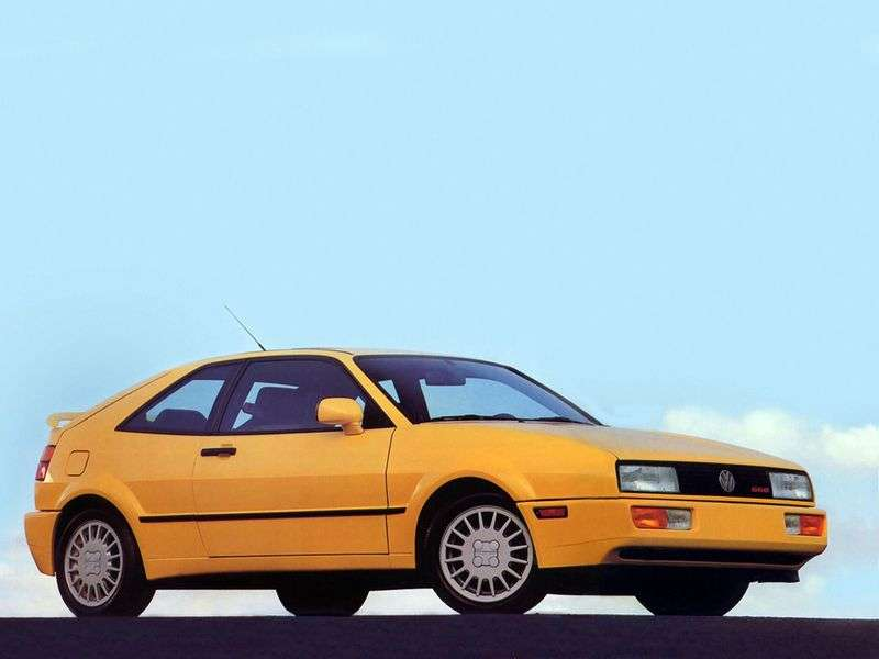 Volkswagen Corrado 1st generation coupe 2.0 16V AT (1991–1994)