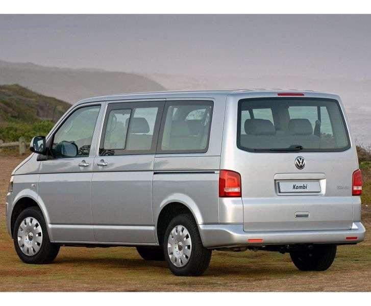 Volkswagen Transporter T5 [restyling] Kombi minibus 2.0 TSI DSG 4Motion L2H3 Basic (2010 – n.)