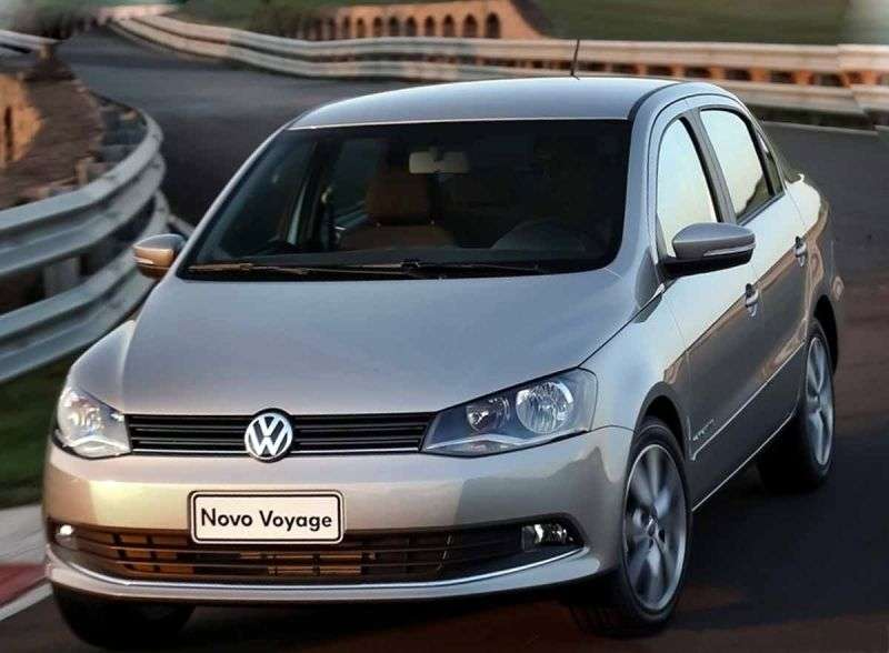 Volkswagen Voyage 3rd generation sedan 1.6 MT (2012 – n.)