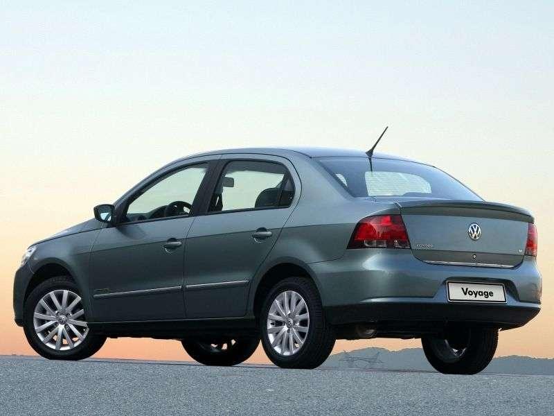 Volkswagen Voyage 2nd generation sedan 1.6 MT (2008–2012)