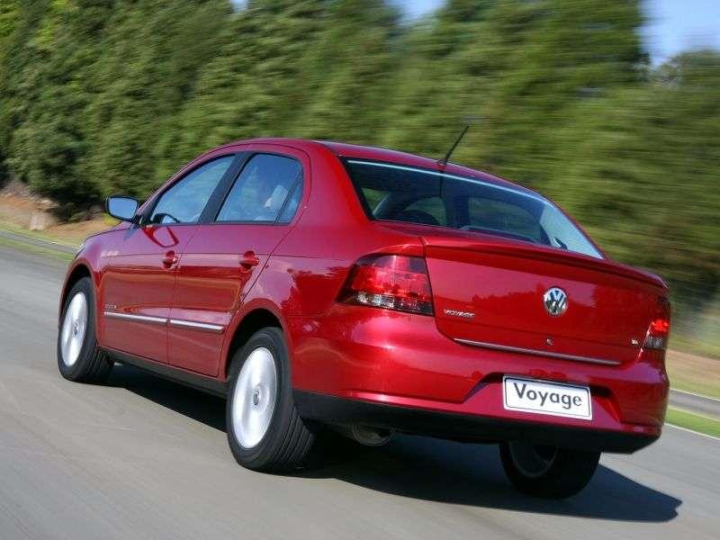 Volkswagen Voyage 2nd generation sedan 1.0 MT (2008–2012)