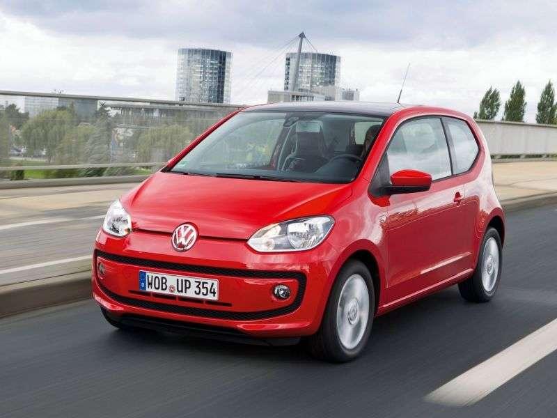Volkswagen Up! 1 generation hatchback 3 dv. 1.0 EcoFuel MT (2012 – current century)