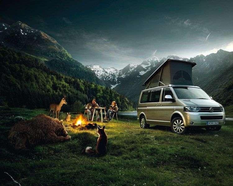 Volkswagen California T5 [restyling] Minibus 2.0 TDI MT Comfortline (2010 – current century)