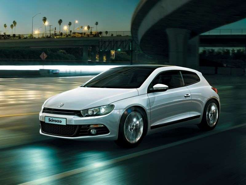 Volkswagen Scirocco 3 generation hatchback 3 dv. 1.4 TSI MT White Night (2008 – present)