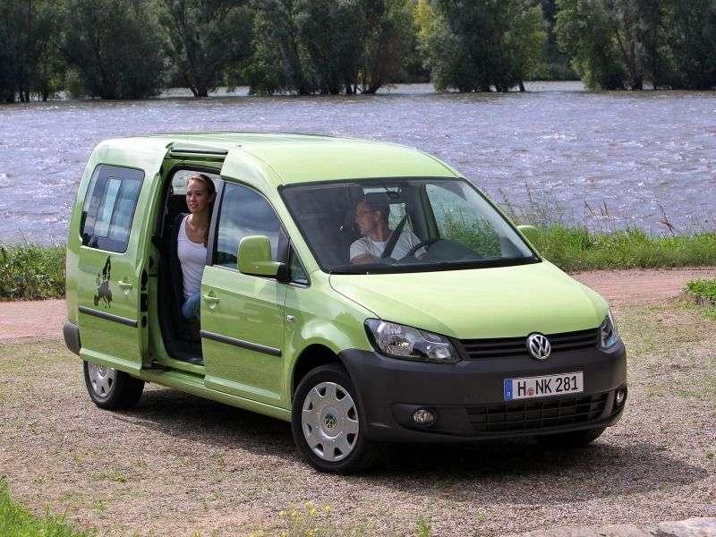 Volkswagen Caddy 3rd generation [restyling] Tramper minivan 5 dv. 1.6 TDI DSG L1 Basic (5 seats) (2011 – current century)