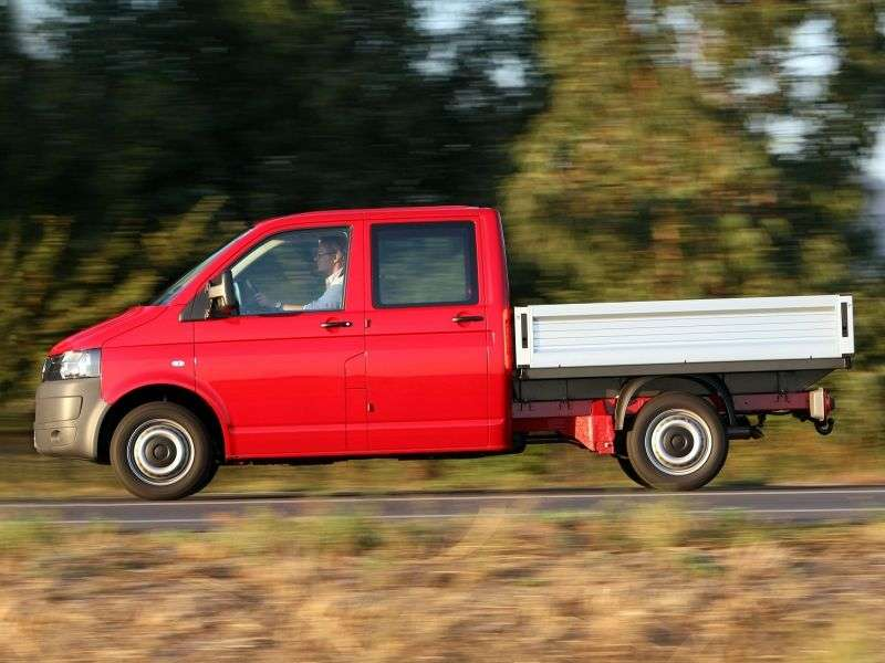 Volkswagen Transporter T5 [restyling] Pritsche board 4 doors. 2.0 BiTDI MT 4Motion Basic (2010 – present)
