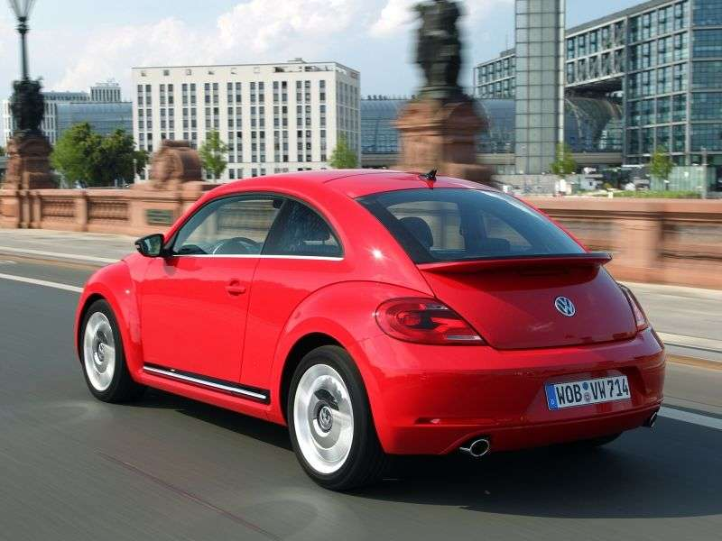 Volkswagen Beetle 2nd generation hatchback 2.0 TDI MT (2012 – n.)