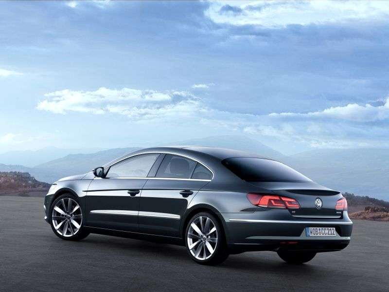 Volkswagen Passat CC 1st generation [restyling] 1.8 TSI DSG Sport Coupe (2012 – n.)