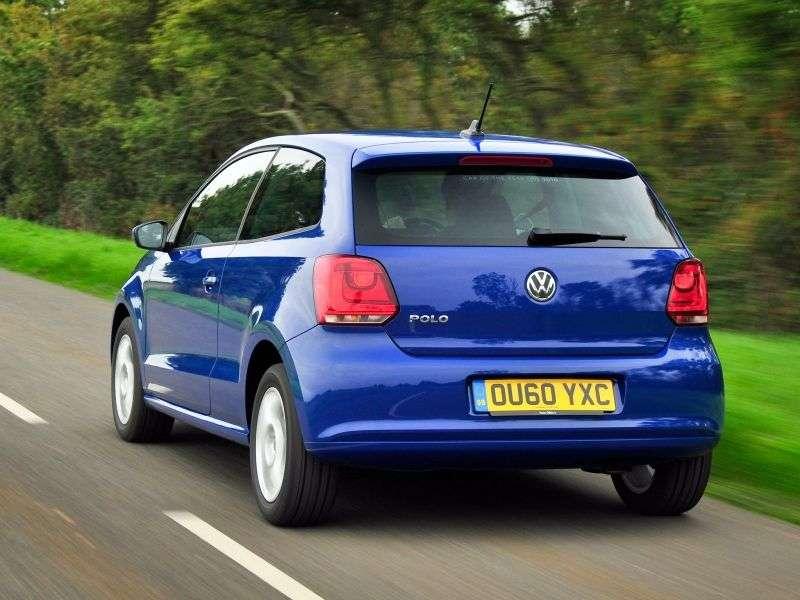 Volkswagen Polo 5 generation hatchback 3 dv. 1.4 MT Trendline (2009 – present)