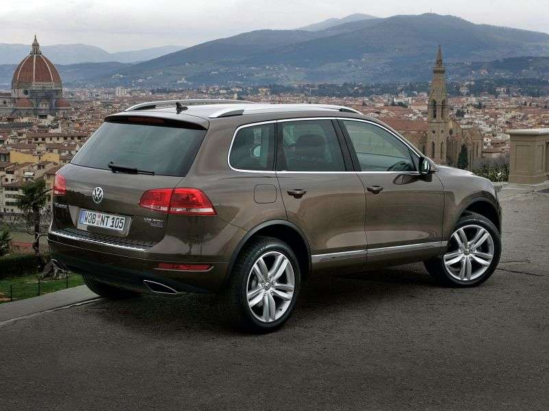 Volkswagen Touareg 2nd generation crossover 3.0 TDI Tiptronic Exclusive (2010 – v.)