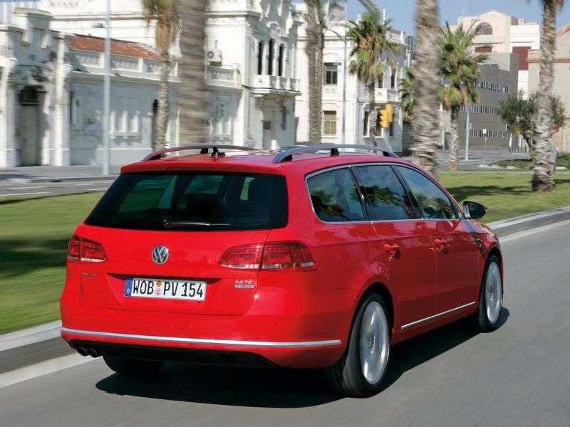 Volkswagen Passat B7Variant wagon 5 dv. 1.8 TSI MT Comfortline (2010 – present)