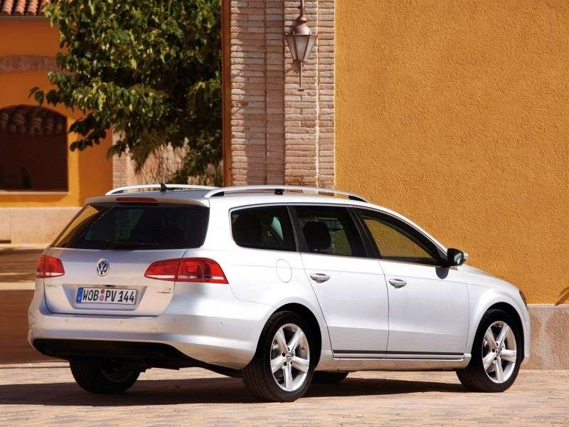 Volkswagen Passat B7Variant wagon 5 dv. 1.4 TSI DSG EcoFuel Trendline (2010 – present)