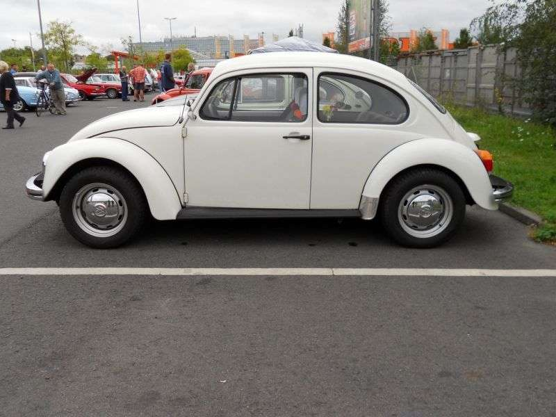 Volkswagen Beetle 1600i [5th restyling] 1.6 MT sedan (1985–1992)