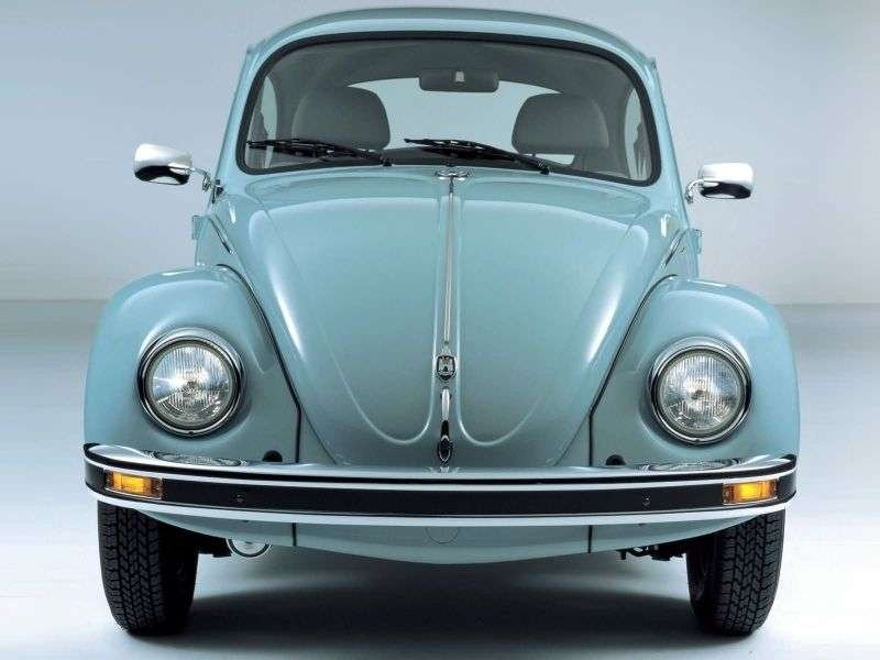 Volkswagen Beetle 1600i [5th restyling] Ultima Edition 2 door sedan. 1.6 MT (2003–2003)