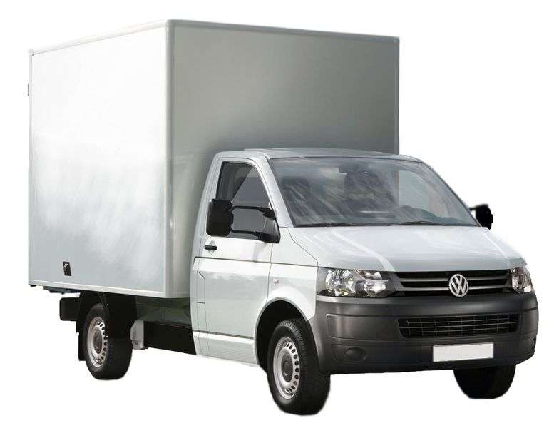 Volkswagen Transporter T5 [restyling] chassis 2 dv. 2.0 TDI MT 4Motion L2 Basic (2010 – present)