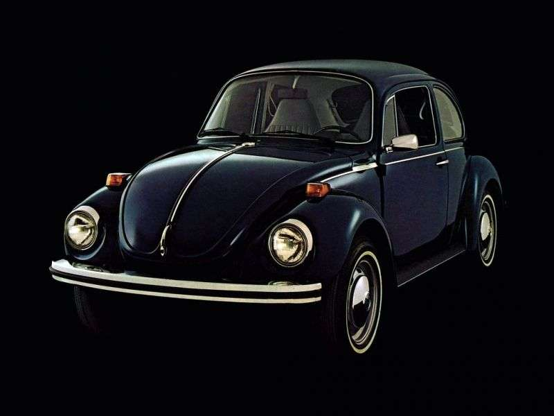 Volkswagen Beetle 1302/1303 [3rd restyling] 1.6 MT L sedan (1972–1975)