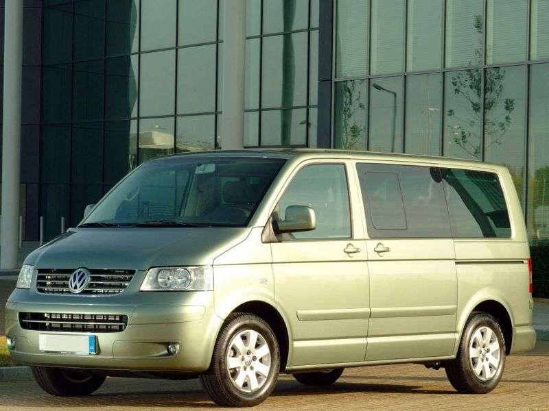 Volkswagen Caravelle T5 Minibus 1.9 TDI MT (2004–2009)