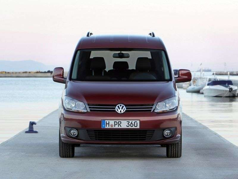 Volkswagen Caddy 3rd generation [restyling] 4 door minivan 2.0 TDI MT L1 Highline (2010 – n.)