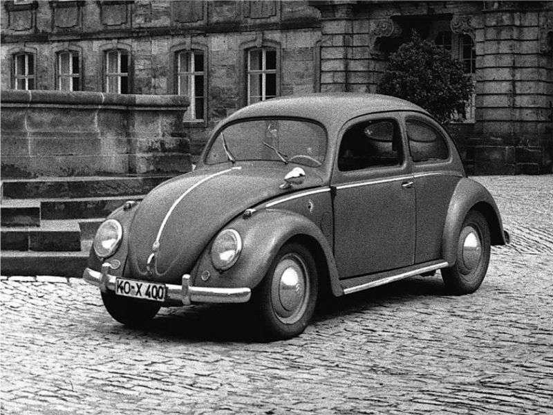 Volkswagen Beetle 1st generation 1.1 MT sedan (1946–1953)