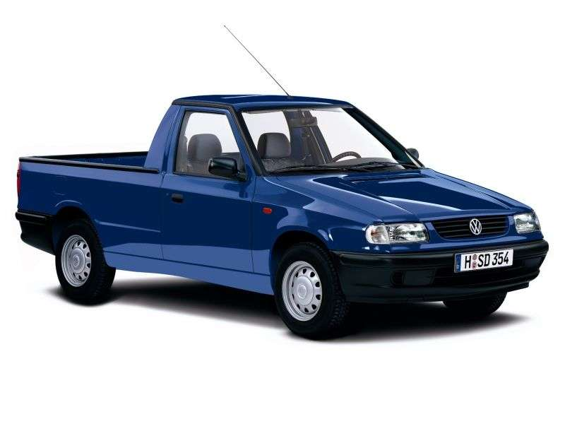 Volkswagen Caddy 2nd generation pickup 1.9 TD MT (1996–2004)