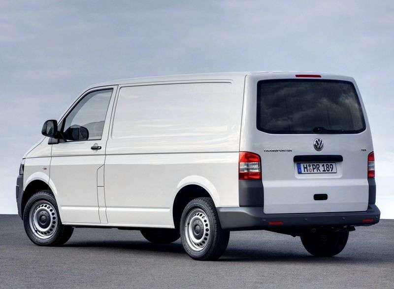 Volkswagen Transporter T5 [restyled] Kasten van 2.0 TDI MT L2H1 Basic (2010 – current century)