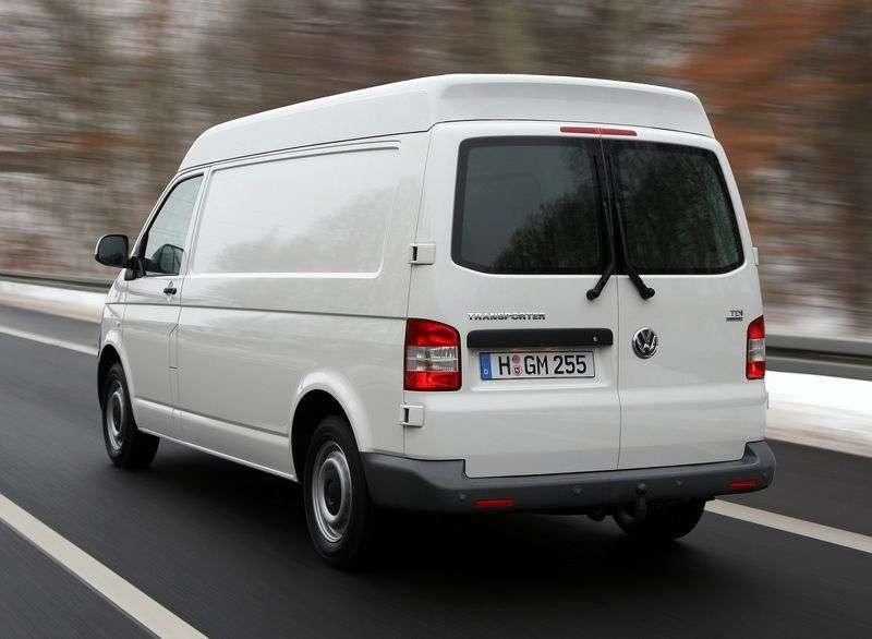 Volkswagen Transporter T5 [restyling] Kasten van 2.0 BiTDI DSG 4Motion L1H1 Basic (2010 – current century)