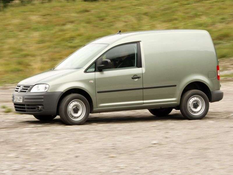 Volkswagen Caddy 3rd generation van 4 bit. 2.0 SDI MT (2004–2010)