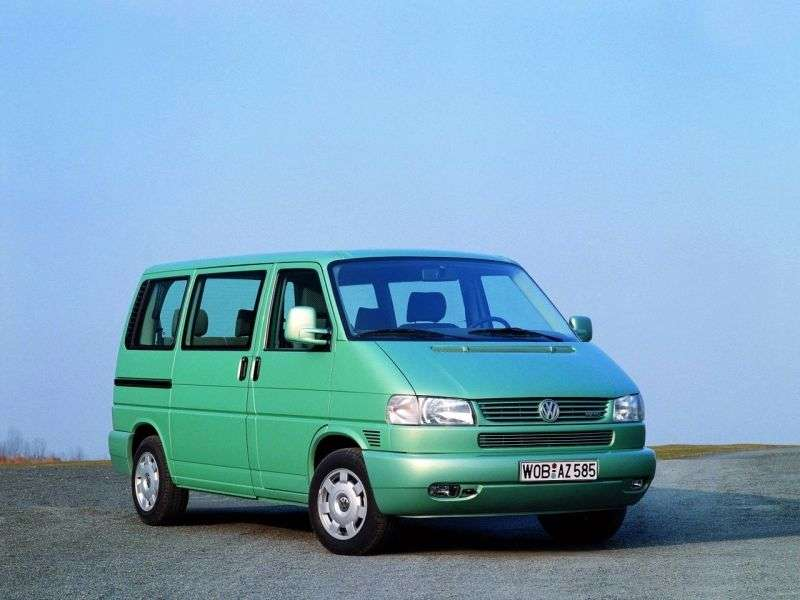 Volkswagen Caravelle T4 Minibus 2.8 AT long (1996–2004)
