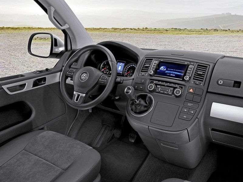 Volkswagen Caravelle T5 [restyling] Minibus 2.0 MT L1 Comfortline (2010 – current century)
