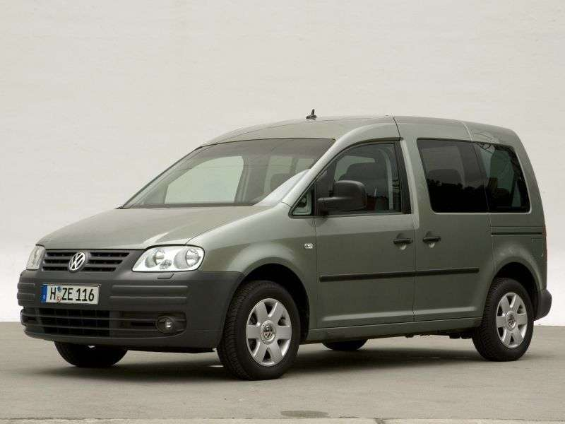 Volkswagen Caddy 3 generation 4 door minivan. 1.9 TDI DSG (2004–2010)