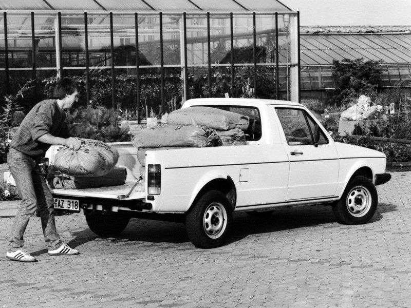 Volkswagen Caddy 1st generation pickup 1.6 D MT (1983–1992)