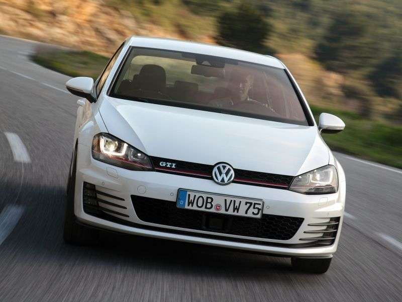 Volkswagen Golf 7 generation GTI hatchback 5 dv. 2.0 TSI BlueMotion MT (2013 – present)