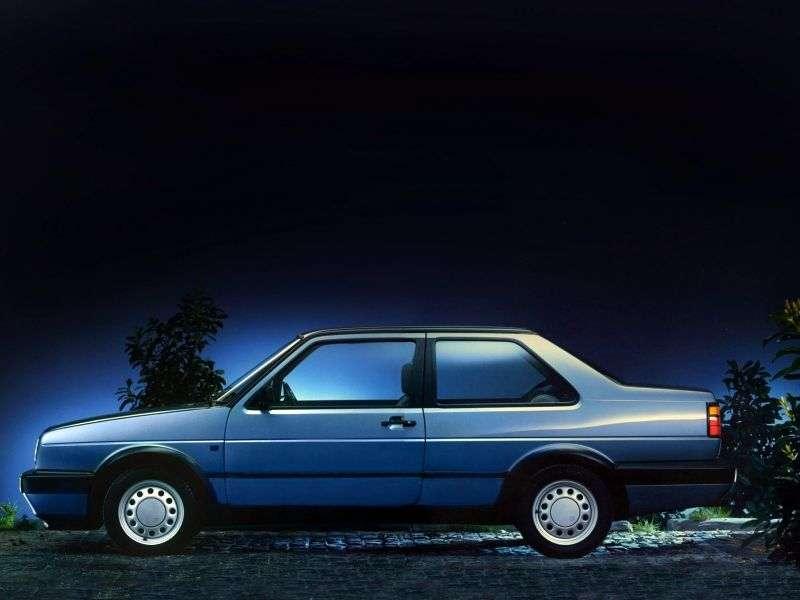 Volkswagen Jetta 2 generation [restyling] 2 d sedan 1.8 MT (1987–1992)