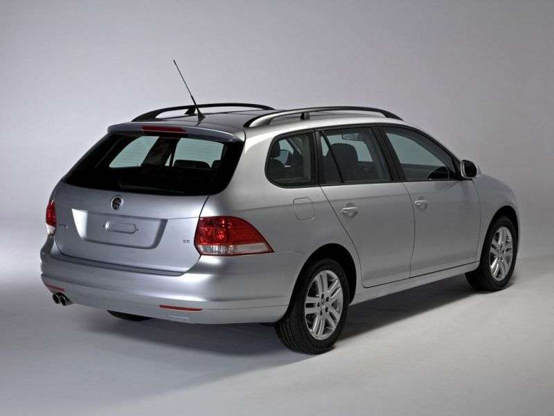 Volkswagen Jetta 5th generation SportWagen 1.4 TSI MT station wagon (2008–2009)