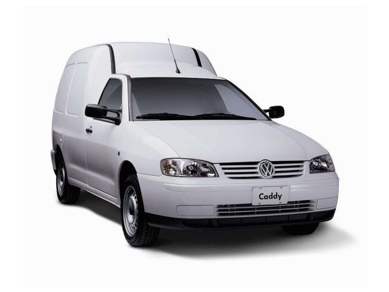 Volkswagen Caddy 2nd generation van 1.9 D MT (1995–2004)