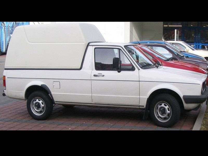 Volkswagen Caddy 1st generation pickup 1.8 MT (1983–1992)