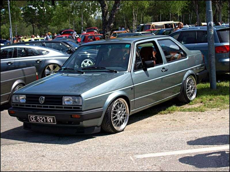 Volkswagen Jetta 2 generation sedan 2 doors. 1.8 GT MT (1984 1987)