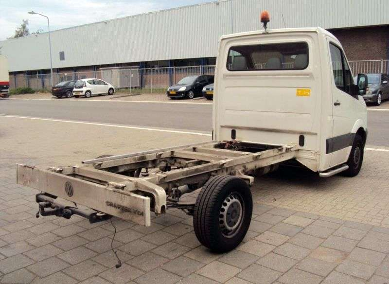 Volkswagen Crafter 1st generation chassis 2 bit. 2.5 TDI Shiftmatic L1 30swb (2006–2011)