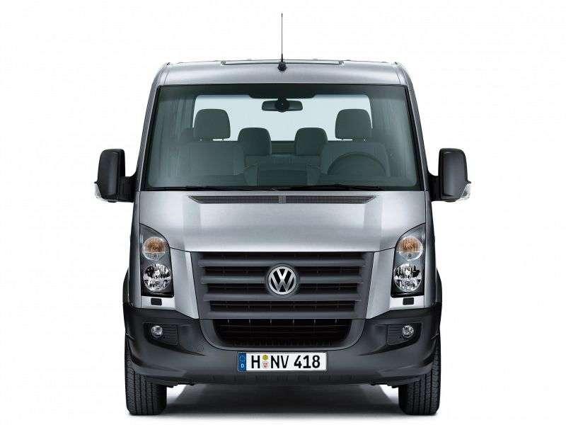 Volkswagen Crafter 1st generation minibus 4 doors 2.5 TDI MT L2H1 30mwb (2006–2011)