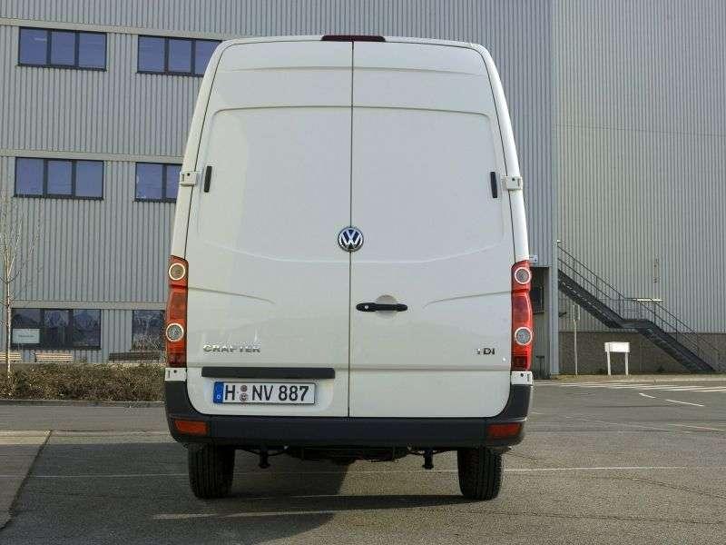 Volkswagen Crafter 1st generation 2.5 TDI Shiftmatic L1H1 35swb (2006–2011)