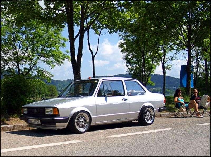 Volkswagen Jetta 1st generation 2 door sedan 1.8 MT (1981–1984)