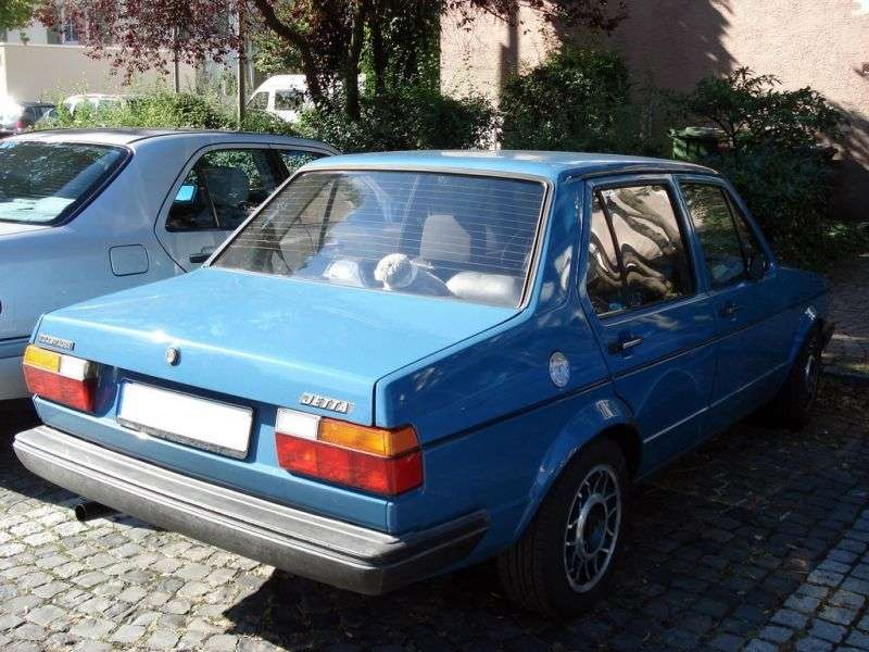 Volkswagen Jetta 1st generation 4 door sedan. 1.6 MT (1981–1984)