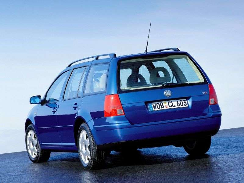 Volkswagen Jetta 4th generation wagon 1.9 TDI MT (1999–2001)