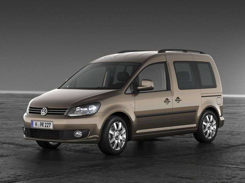 Volkswagen Caddy 3rd generation [restyling] 4 door minivan 1.6 TDI DSG L2 Highline (2010 – n.)