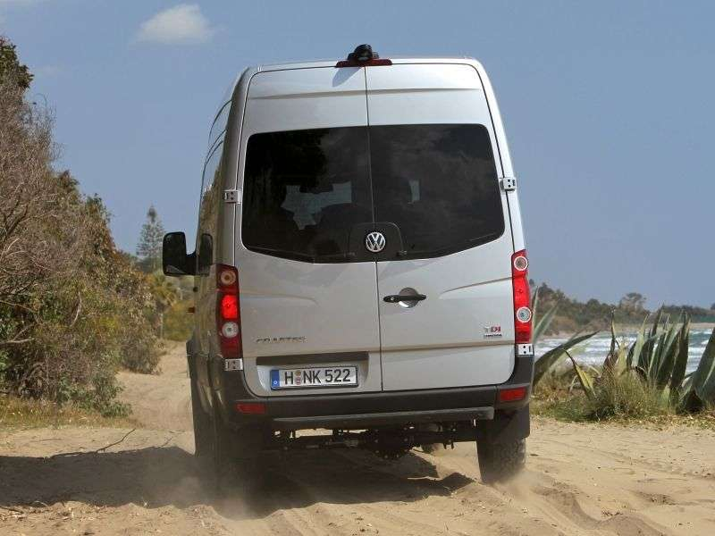 Volkswagen Crafter 1.generacja [zmiana stylizacji] Combi minibus 2.0 TDI MT L2H1 30mwb (2011 obecnie)