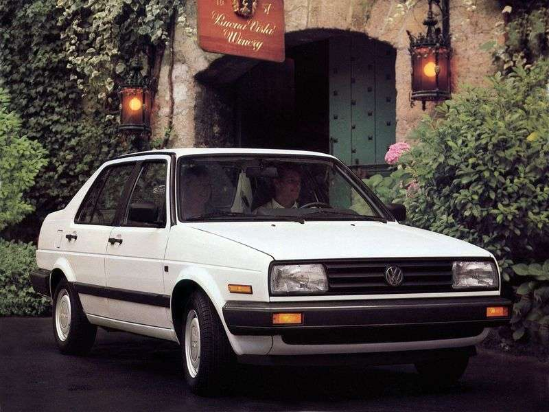 Volkswagen Jetta 2 generation [restyling] 4 door sedan. 1.8 MT (1987–1992)