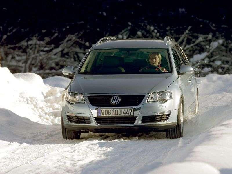 Volkswagen Passat B6universal 5 dv. 2.0 TDI 4Motion DSG (2005–2010)