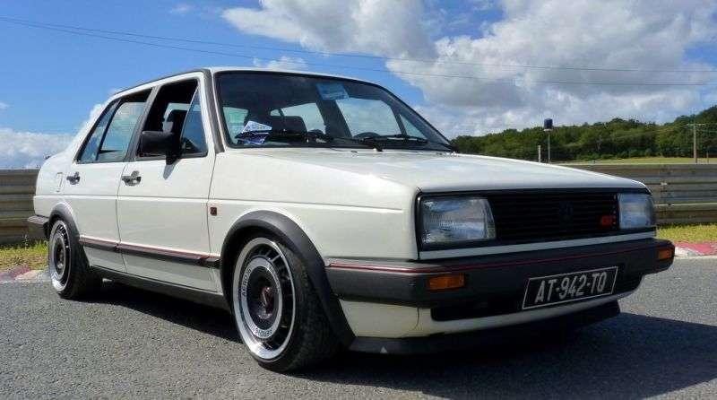 Volkswagen Jetta 2 generation sedan 4 doors. 1.6 AT (1984 1987)