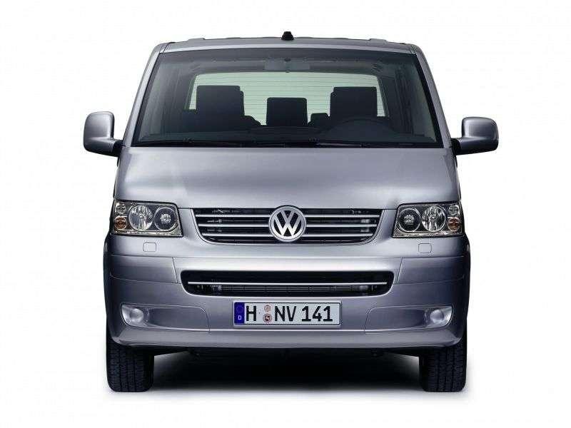Volkswagen Multivan T5Minibus 2.5 TDI AT (2003–2009)